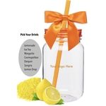 Closeout Summer Drink Mason Jar