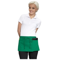 "23"" W x 11"" L - Three-Pocket Waist Apron - Kelly"