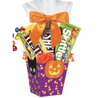 Halloween Mini Candy Gift Basket