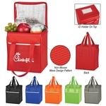 Non-Woven Wave Design Kooler Lunch Bag