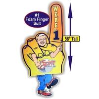 """58"""" Full-color Wearable Foam Finger Suit"""