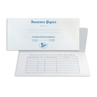 Insurance document folder
