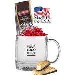USA Made Mug with Dunkin Coffee & Cookie
