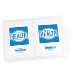 GoPac with Hand Sanitizer Wipes, Label Imprint