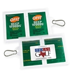 GoPac with OFF! Deep Woods Insect Repellent, with Carabiner