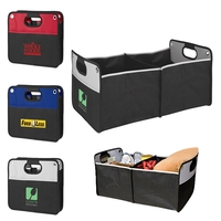 Collapsible 2 Tone Trunk Organizer