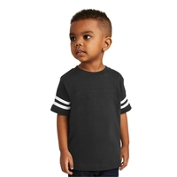 Rabbit Skins Toddler Football Fine Jersey Tee.