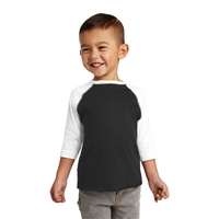 Rabbit Skins Toddler Baseball Fine Jersey Tee.