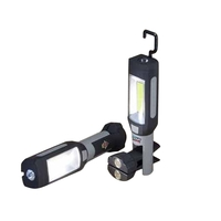 Clip Swivel COB Work Light Flashlight