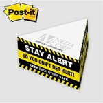 Post-it® Custom Printed Notes Half Triangle Cube