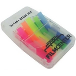 Sticker Flags In Translucent Case
