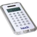 White Slim Solar Calculator
