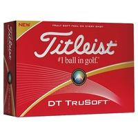 Golf balls Titleist DT TruSoft - Box of 12 balls
