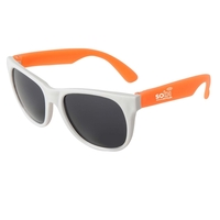 Neon Sunglasses - White Frame