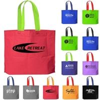 2-Tone Bottom Gusset Bag
