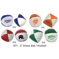 "2"" Semi Soft Stress Balls / Kickballs #677 & Variety *"