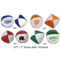 Semi Soft Stress Ball / Kickball - Size 2""