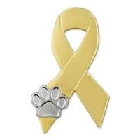 Animal Cruelty Awareness Ribbon