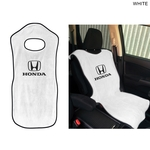 Terry Velour Car Seat Protector, Printed