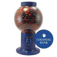 Gumball Machine Filled with Mints, Candy, Chocolate, or Gum