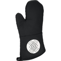 Quilted Cotton Oven Mitt