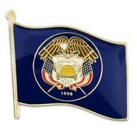 State - Utah State Flag Pin
