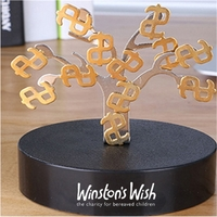 Magnetic Sculpture Desk Toys - 12 Small $ and One Tree
