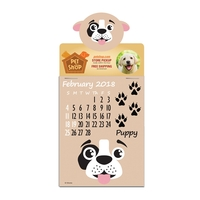 Four Color Press-N-Stick (TM) Paws N Claws Pad