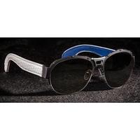 U-Boat White Python Sunglasses