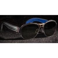 U-Boat Black Python Sunglasses