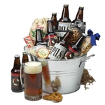 Craft Beer Lovers Gift Basket
