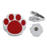 Paw Shaped Magnet Chip & Memo Clip