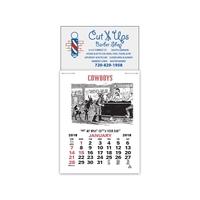 Cowboy Magna-Stick (TM) Calendar