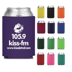 Collapsible Neoprene Can Cooler - Screen Printed