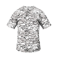 Adult Two-Button Placket Digital Camo Jersey