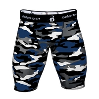 "Men's Camo 8"" Compression Shorts"