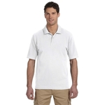 Men's 6.5 oz., 100% Organic Cotton Pique Polo