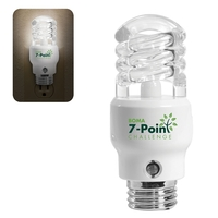 CFL Light Bulb Shaped Night Light