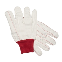 The Roughneck Canvas Gardening / Oil Field Gloves, White