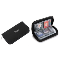 Memory card storage package
