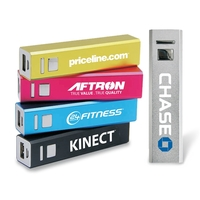 Portable Aluminum USB Power Bank