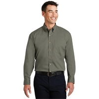 Port Authority Long Sleeve Twill Shirt.