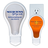 Light Bulb Neon Thin Night Light