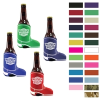 Cowboy Boot Shape Premium Foam Can Cooler-Screen Printed