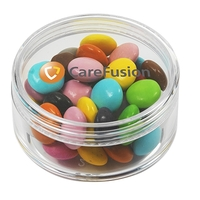 Round Container / Chocolate Buttons