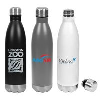 Hydro-Soul Insulated Stainless Steel Water Bottle - 25oz