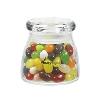 Glass Vibe Jar with Jelly Belly (R) Jelly Beans
