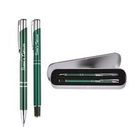 Metal Rollerball & Ballpoint Pen Gift Set