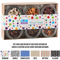 6 Way Gift Tin Set - Sweet & Salty Delight