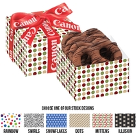 Chocolate Pretzel Gift Box - Chocolate Drizzle